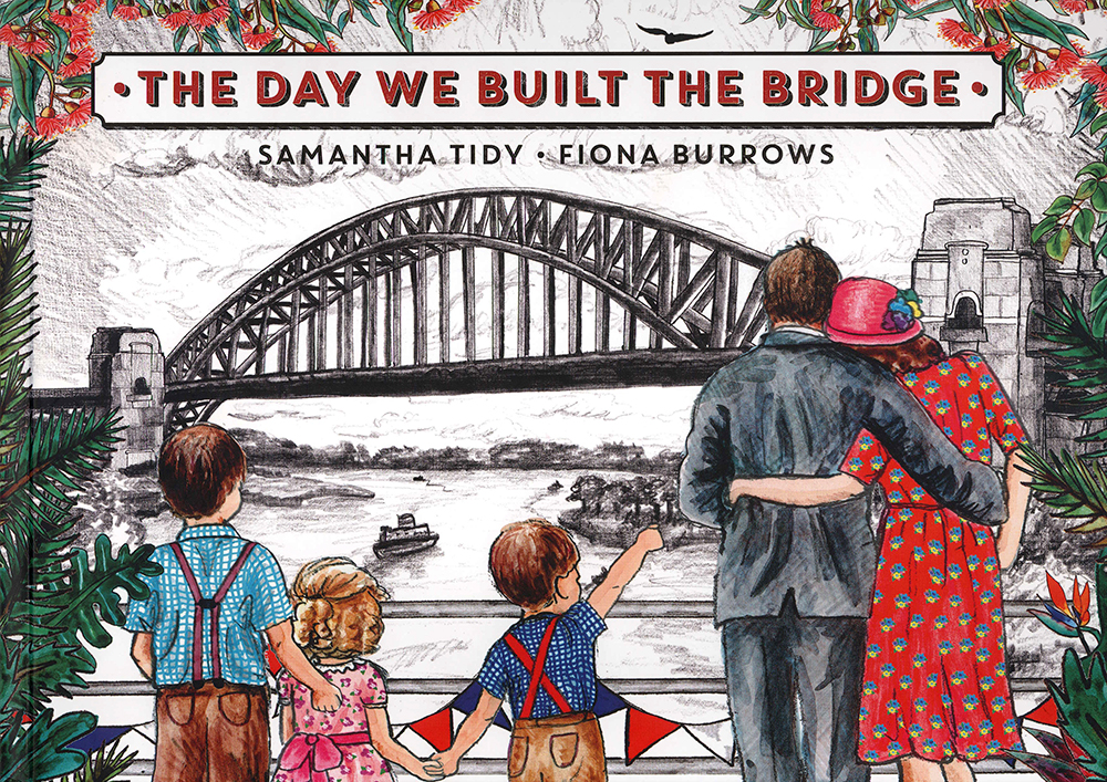 Cover of The day we built the bridge