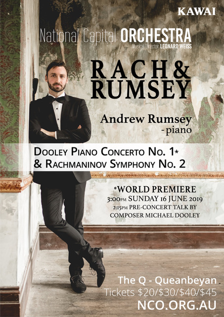 National Capital Orchestra – Rach and Rumsey