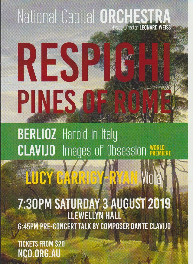 National Capital Orchestra – Pines of Rome