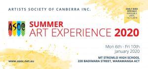 Summer Art Experience @ Stromlo High School | | |