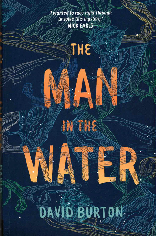 Cover of The Man in the Water by David Burton