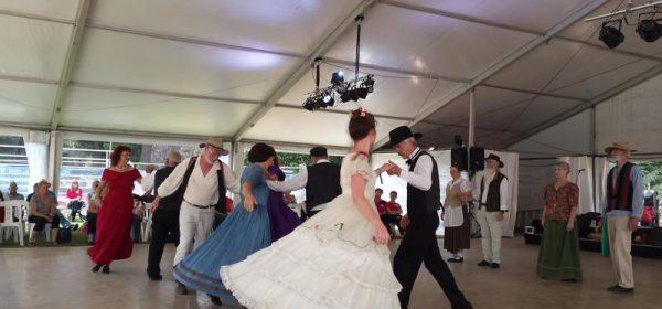 National Folk Festival dance program